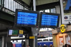 Information voyageurs Paris Gare de Lyon